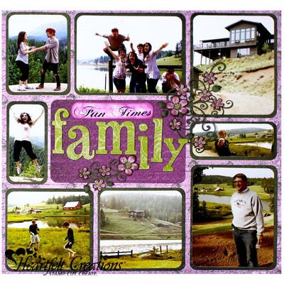 Gallery | Family Fun Times Layout - Heartfelt Creations