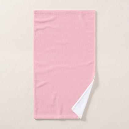 Pink Hand Towel