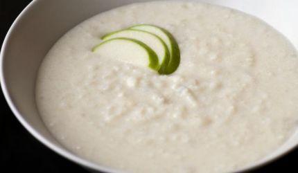 Zemiaková polievka s tvarohom