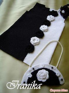 """Здравствуйте дорогие рукодельницы Страны Мам! Начинаем он-лайн вязание платья """"Модница"""" от iranika (Ирина). Меня зовут Марина (ко мне на ты)."""