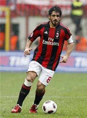Gennaro Gattuso, Italy (AC Perugia, Glasgow Rangers, Salernitana Calcio, AC Milan, FC Sion, Italy)