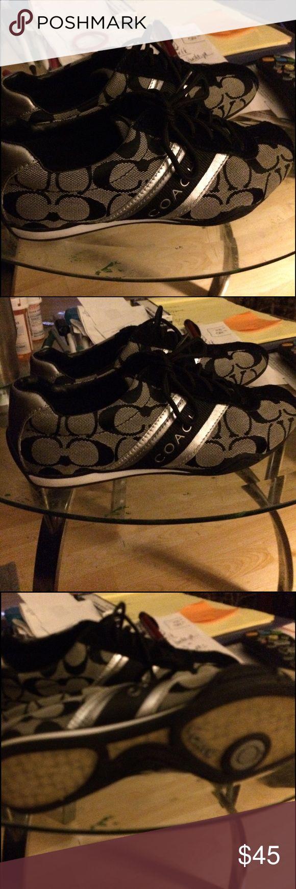 Coach tennis shoes Gorgeous coach tennis shoes euc Coach Shoes Sneakers