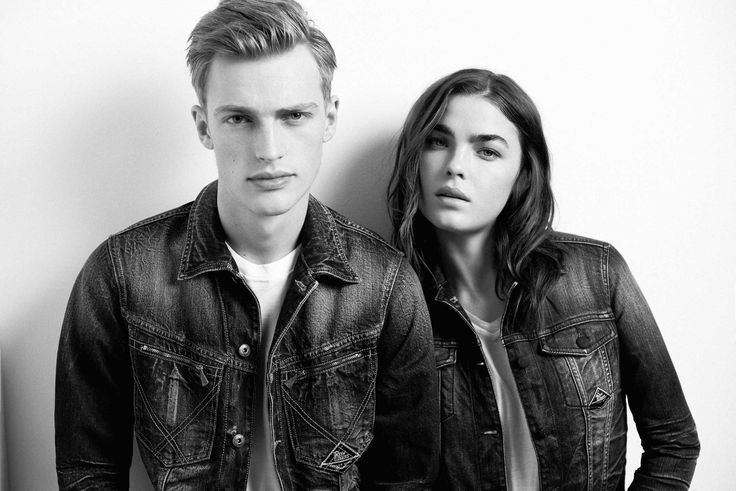 Roy Roger's Spring Summer 2015 campaign. Shot by photographer Philip Gay and featuring models Bambi Northwood Blyth and Victor Nylander
