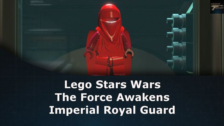 Lego Star Wars The Force Awakens Imperial Royal Guard Unlock Location