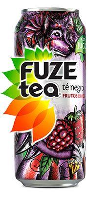 FUZE tea Té negro con frutos rojos - México