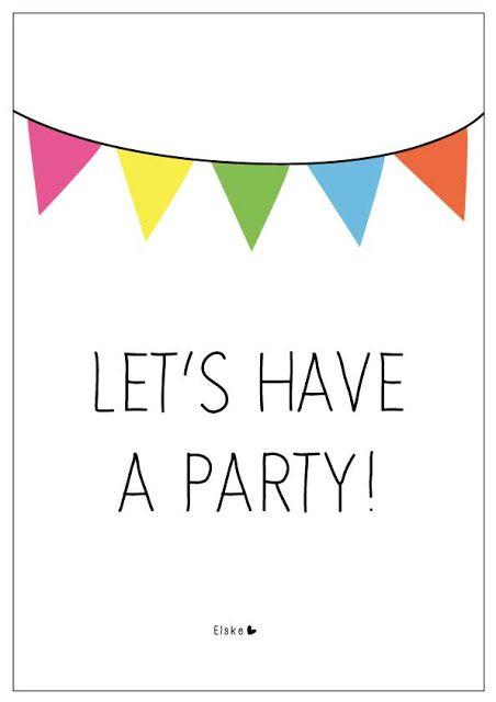 Elske: let's have a party!