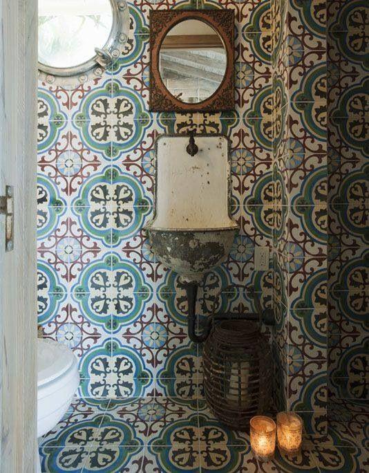 Moroccan Tile Charm