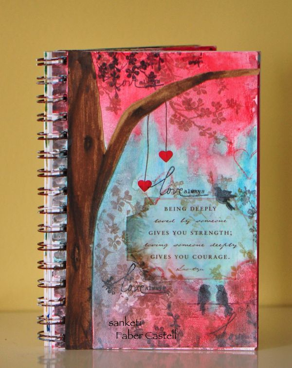 Being deeply loved by someone gives you strength; loving someone deeply gives you courage. Lao Tzu – Journal by Faber Castell