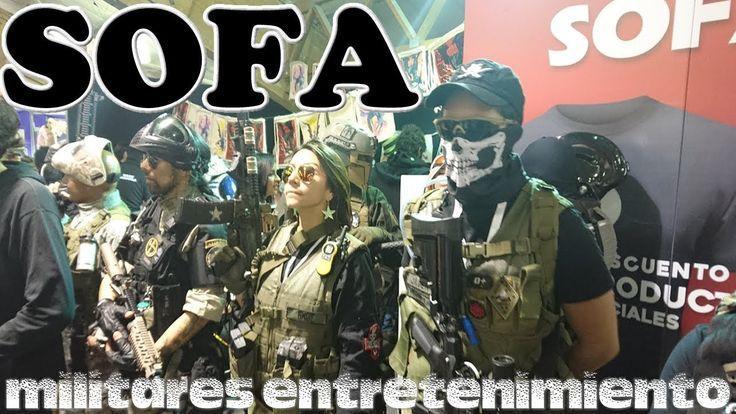 SOFA militares entretenimiento