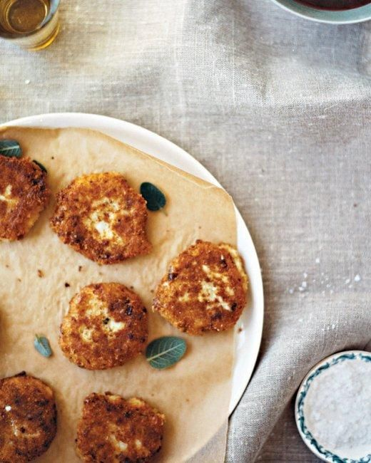 Turkey Croquettes Recipe - make with leftover turkey, mashed potatoes and cranberry sauce