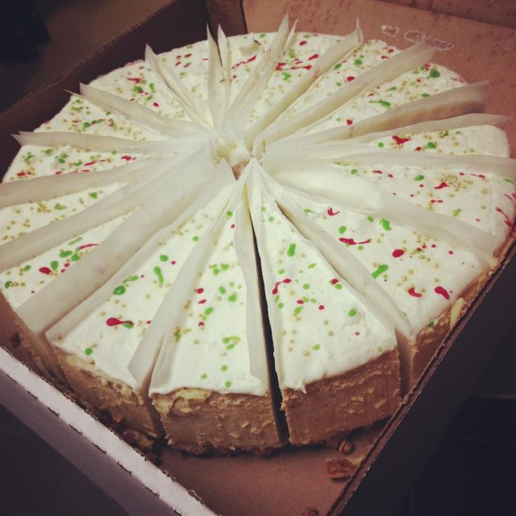 Rum and Eggnog Cheesecake... yummm, bring on the HOLIDAYS!!! Only at # ...