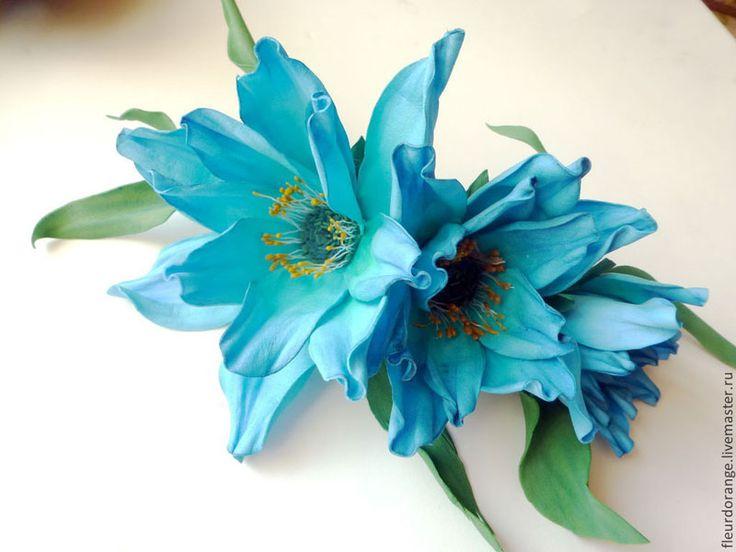 Цветы из фоамирана Натальи Шелагиной