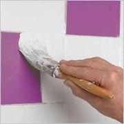 badkamer tegels verven