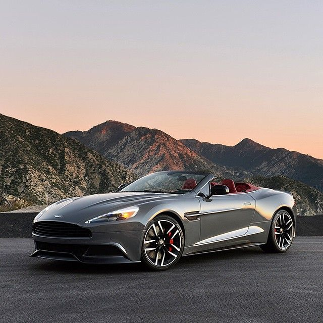 Discover Vanquish Volante - The Ultimate Convertible
