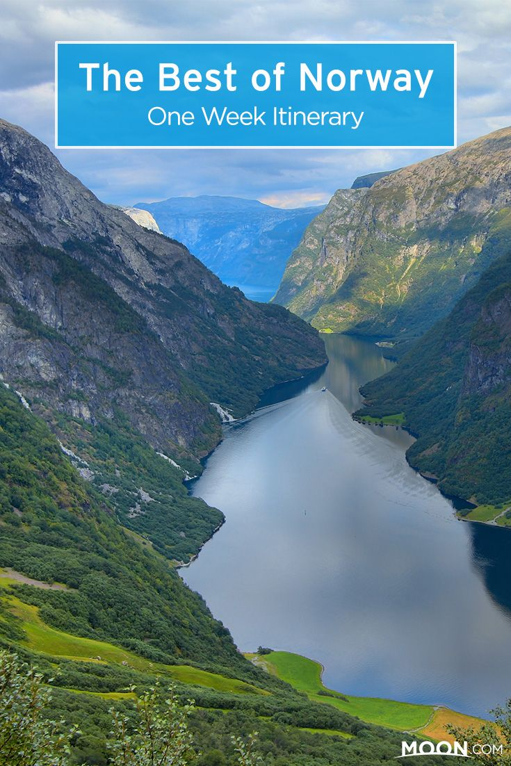 Explore Norway's majestic fjords and mountains and visit its beautiful and historical cities with this week-long best of Norway travel itinerary.