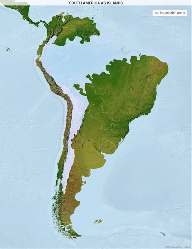 3 maps explain why South America is