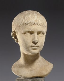A roman marble portrait bust of a Julio-Claudian prince circa 1st half of the 1st century a.d.