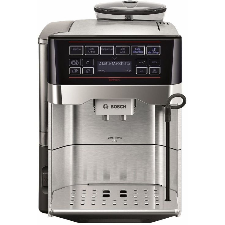 Espressor Bosch VeroAroma TES60729RW, Dispozitiv spumare, Sistem OneTouch Milk…