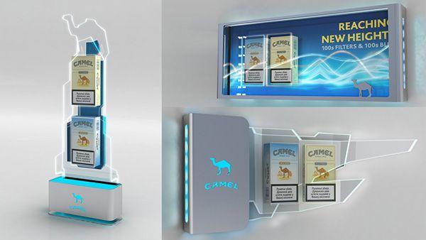 Camel HORECA display on Behance