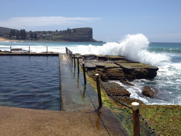 Avalon Beach - north of Sydney - NSW, Australia.