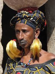 how to clean fulani earrings