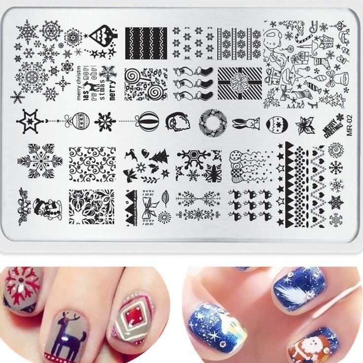 Luxury Nail Plate Embellishment - Nail Art Ideas - morihati.com