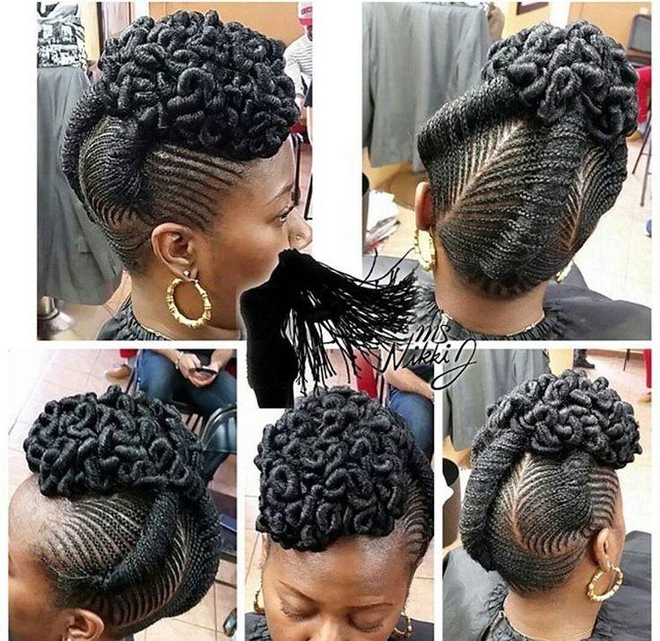 fun natural hairstyles black