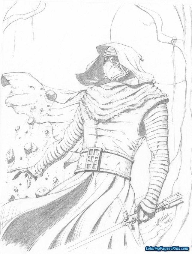 Great Image Of Kylo Ren Coloring Page Entitlementtrap Com Star Wars Drawings Star Wars Artwork Star Wars Art