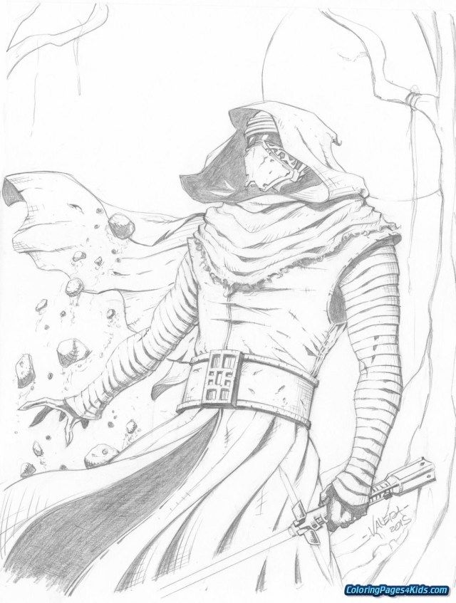 Pretty Photo Of Kylo Ren Coloring Page Star Wars Drawings Star