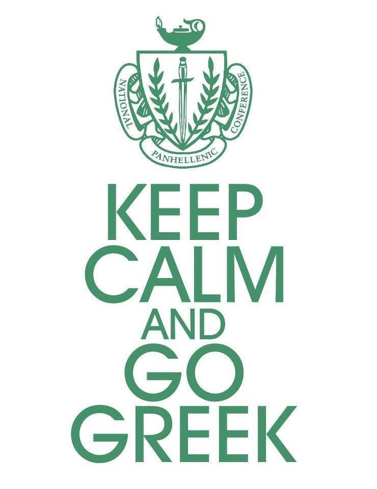 8) I've always wanted to go greek after seeing my sister go through with it when she was in college, so I decided to go through formal recruitment.