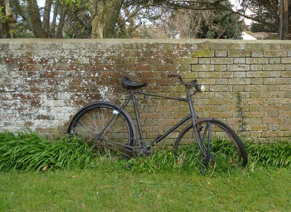 Image result for abandoned bicycle