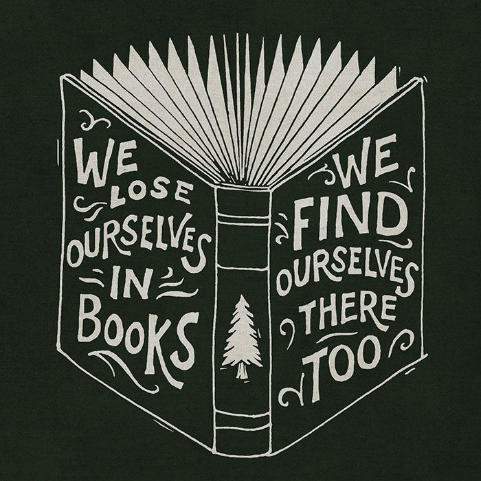 "teencenterspl: "" Books rock! """