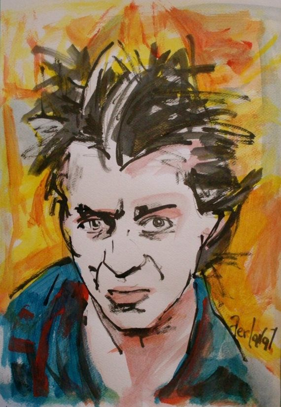 Paolo Rossi Attore by NandoTelly on Etsy, €30.00