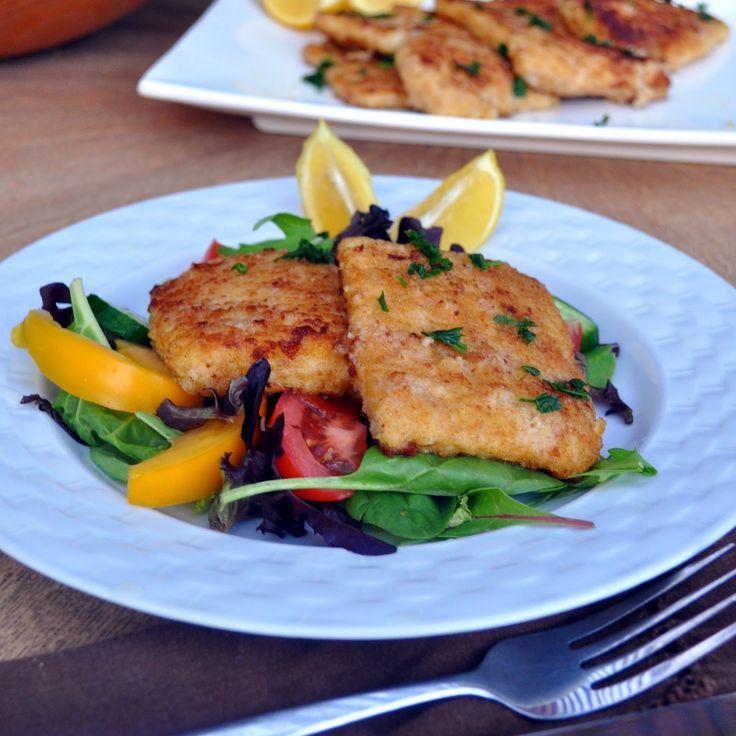 Crispy and tender, quick and easy fried calamari steak Cooking with Manuela: Quick and Easy, Crispy Calamari Steak #dinner #fish