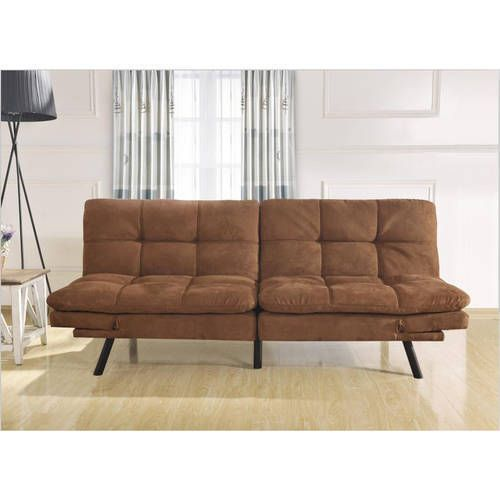 Sofa Bed Sleeper Futon Couch Convertible Modern Living Room Furniture Brown NEW