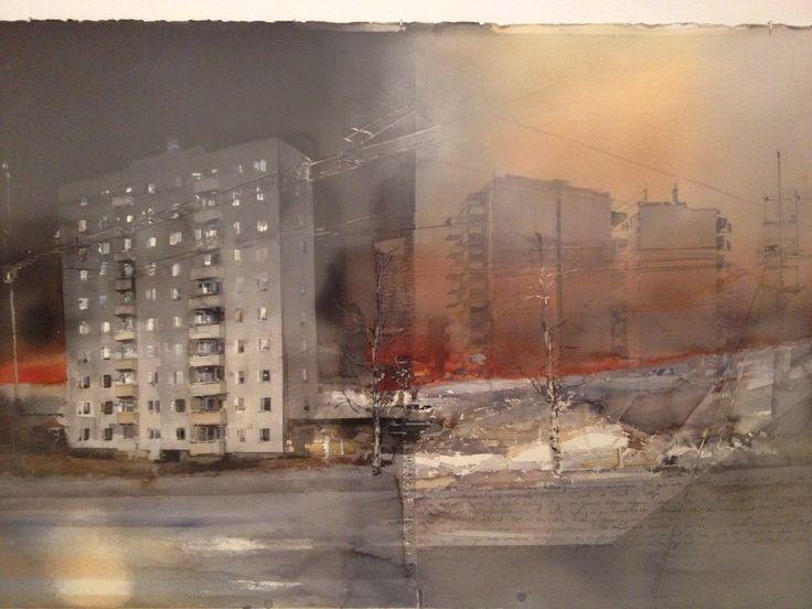 By Lars Lerin.