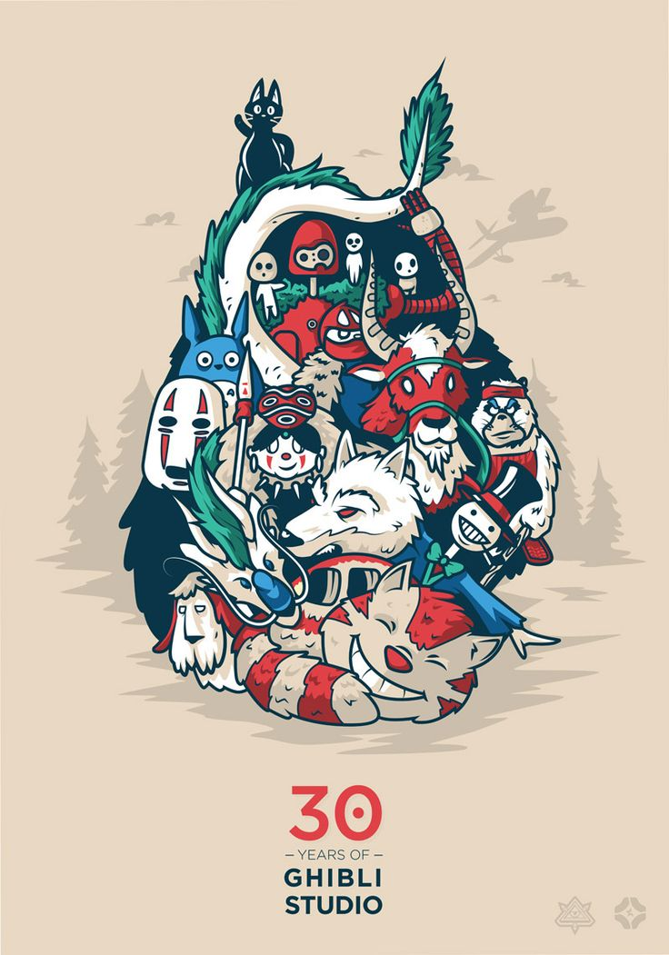 25 Best Ideas About Studio Ghibli Wallpaper On Pinterest