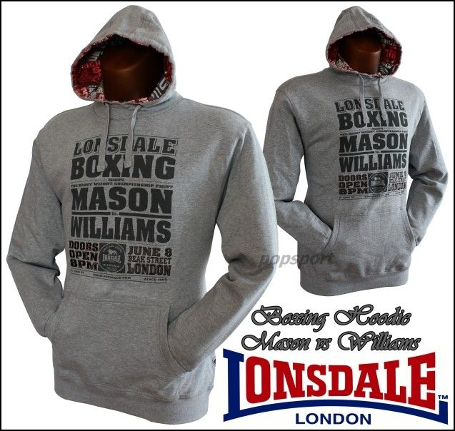 Mikina LONSDALE Boxing Mason vs Williams