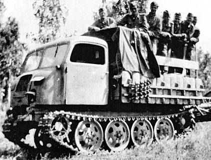 """Engines of the Wehrmacht - """"Steyr RSO"""", 1.5-ton, 4x4, Troop Carrier"""
