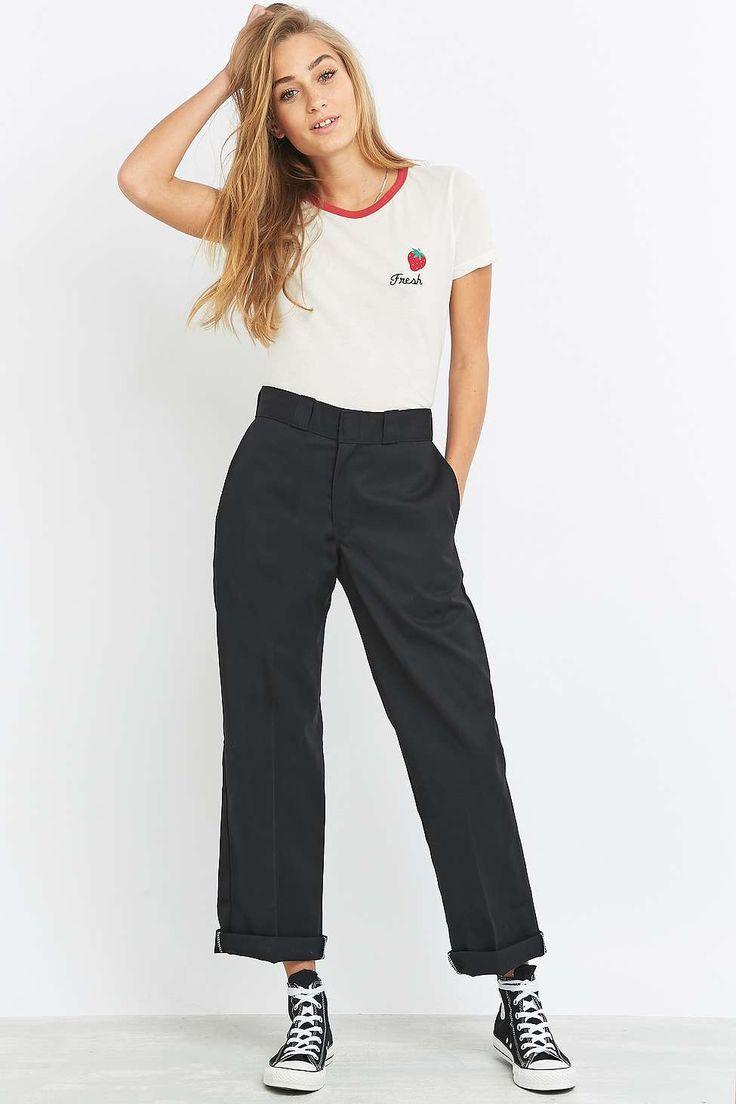 Dickies Original 874 Black Work Trousers - Urban Outfitters