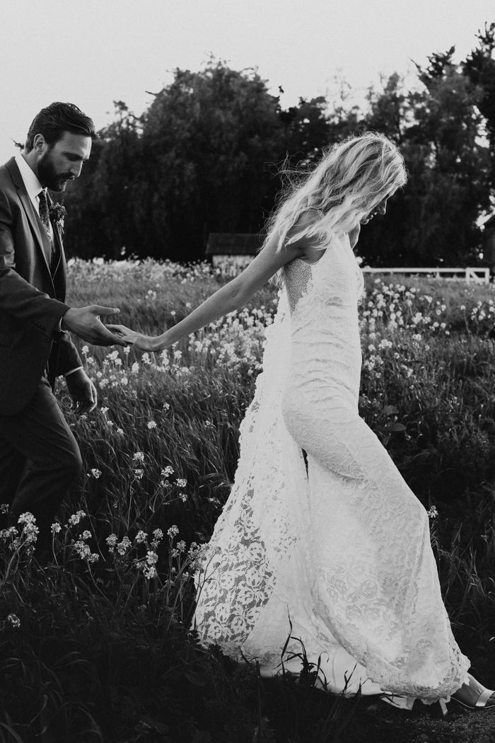 This Flying Caballos Ranch Wedding Is A Rustic Boho Dream Couple