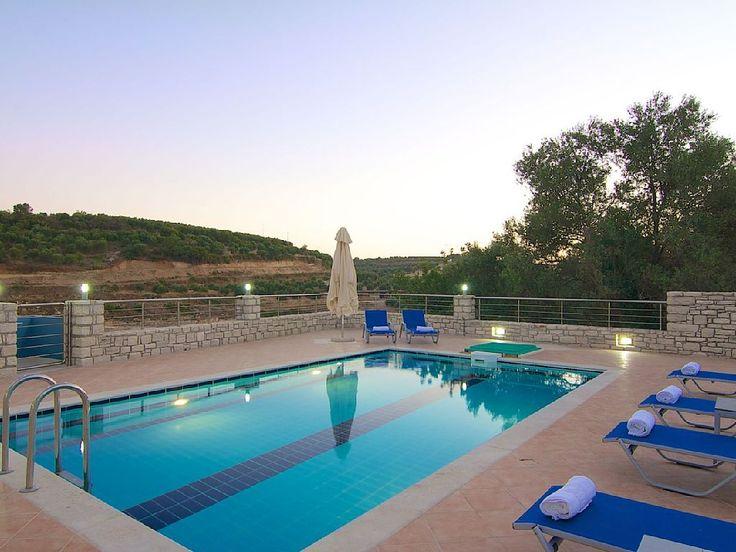 Rethymno villa rental - Blue Villa II, an ideal place to relax!