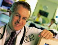 Dr. David Bates, from BWH, helped develop a computerized physician order entry (CPOE) system to reduce medical errors.
