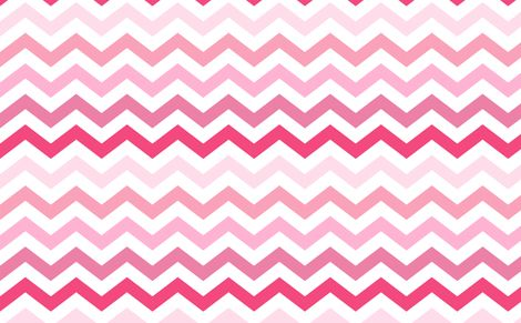 Ombre Pink Chevron Wallpaper!