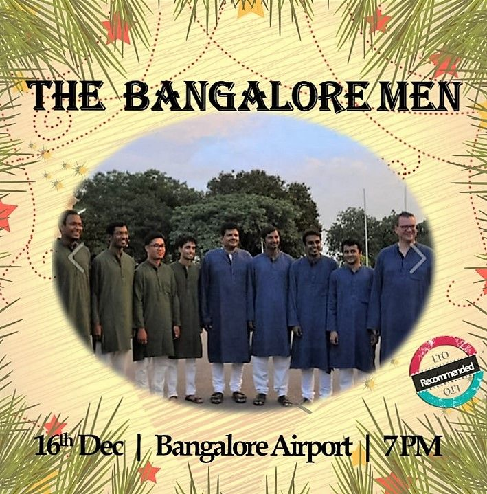 """Oh...Let them Sing..let them sing! For they're our """"X-MAS"""" MEN ;)  They seem to be bringing #christmas ever so closer with their singing :) and why not ! For they are The Bangalore Men a.k.a """"X-MAS"""" Men ;) ... Join them >> 16 Dec >> 7 PM >> B'lore Airport !  Book The Bangalore Men for choirs @ www.localturnon.com/bookings  #turn #ON #music 