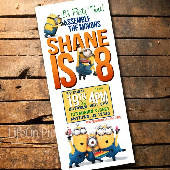 PLEASE CHOOSE THE TYPE OF FILE YOU WANT. The JPEG files are able to be printed as a photo. For the invitations that print 3 to a page on one 8.5 x 11 sheet, the finished size is 3.667 x 8.5 and will fit a standard #10 business envelope. Customize the invitation at no extra charge. Please send me your info in at the time of your order for a quick turnaround. 1. Childs Name 2. Childs Age 3. Party Date 4. Party Time 5. Party Location 6. Optional: RSVP Your printable file will be sent to you ...