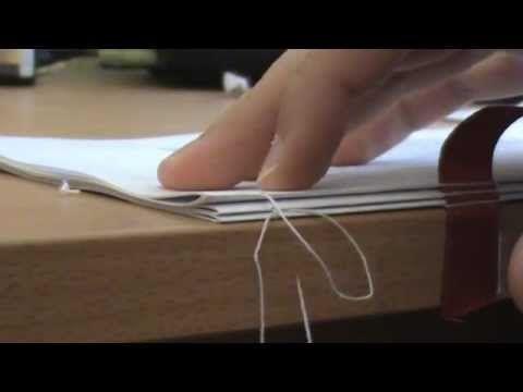 Ich zeige euch hier wie man mit Nadel und Zwirn ein Buch bindet. Falls es nicht ganz klar geworden sein sollte wie gedruckt wird: Druckt jeweils 16 Seiten im...