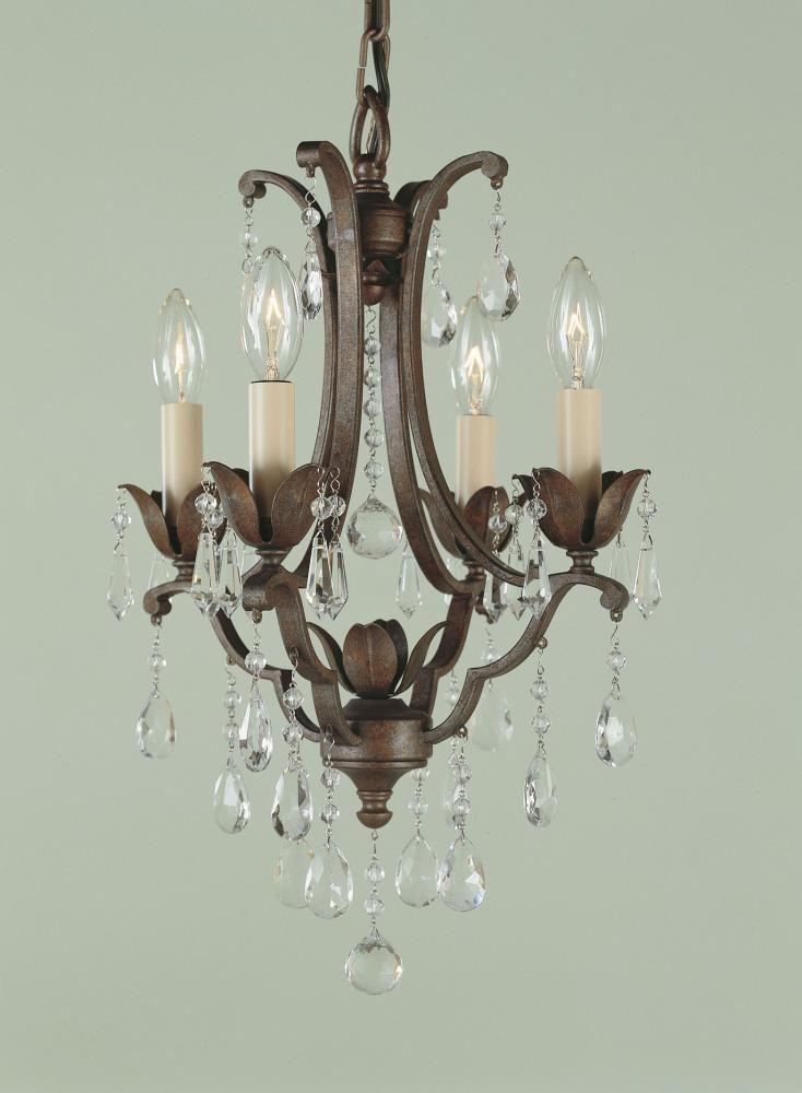 26 Best Images About Small Spaces Mini Chandeliers On