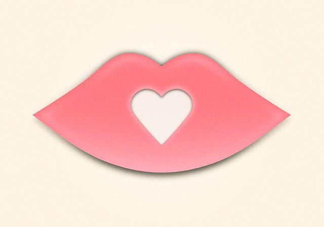 Kiss / Just a little idea I had. #illustration