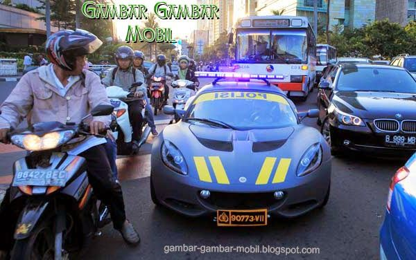 foto mobil sport polisi di indonesia